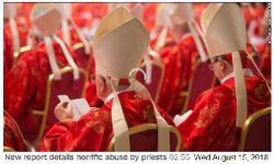Đọc thư của Tổng Trưởng Tư Pháp Tiểu Bang Pennsylvania gửi Giáo Hoàng về vấn đề các tu sĩ ấu dâm